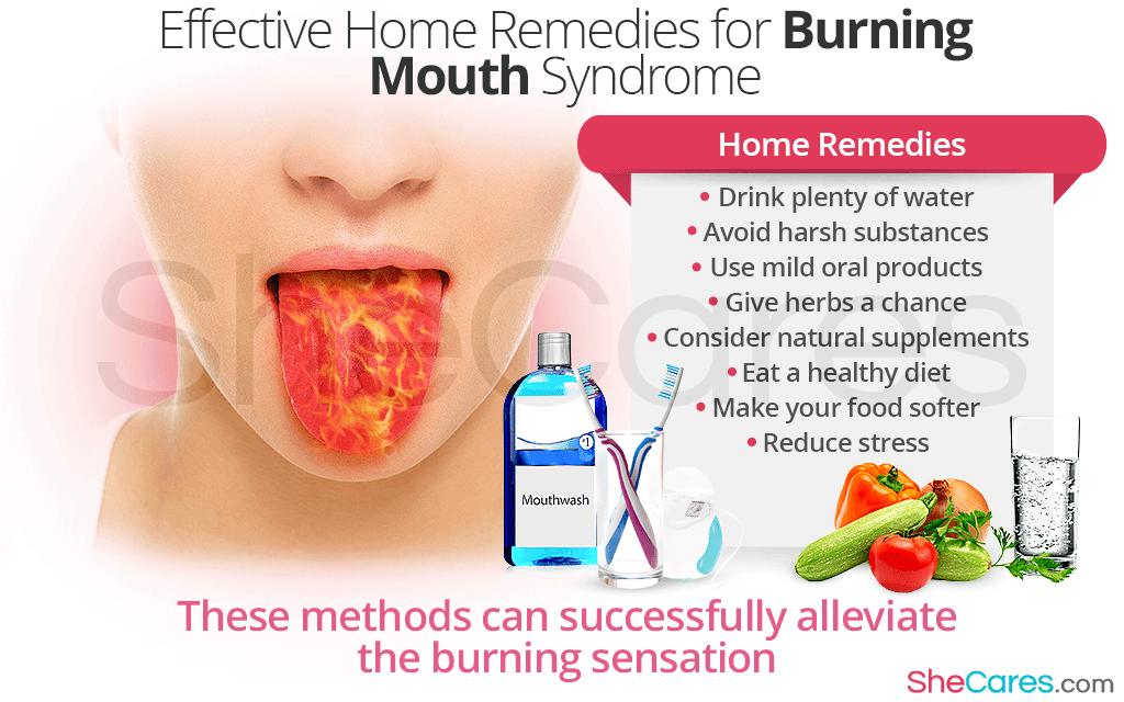sore Burning throat and tongue
